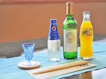【大切な記念日に】青森県産のヒバで作った箸にコースター、乾杯のワンドリンクサービスで記念日を演出