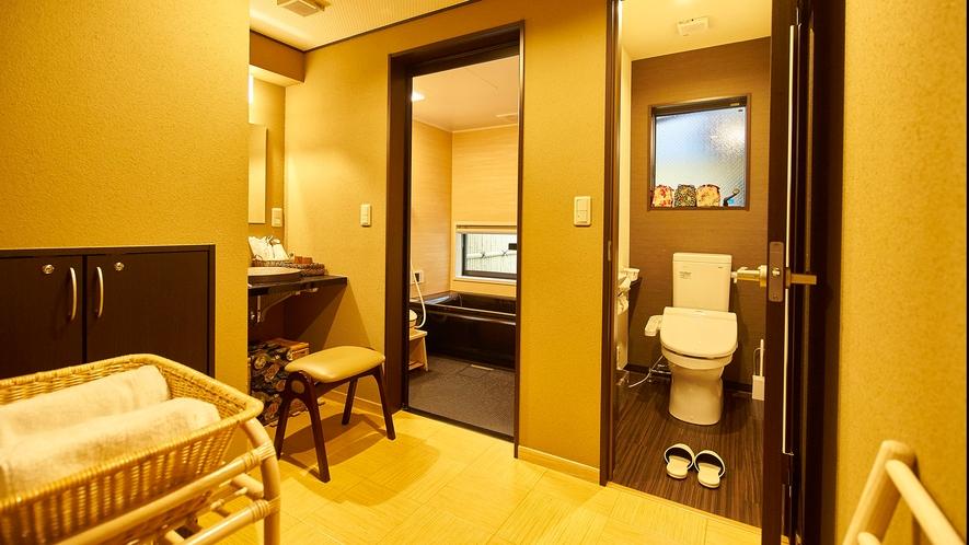 ・1F洗面スペース・浴室・お手洗い