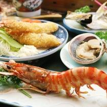 近海で獲れた様々な食材を新鮮なままお召し上がりください♪