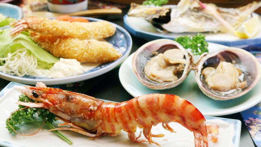 ◆近海で獲れた様々な食材を新鮮なままお召し上がりください♪