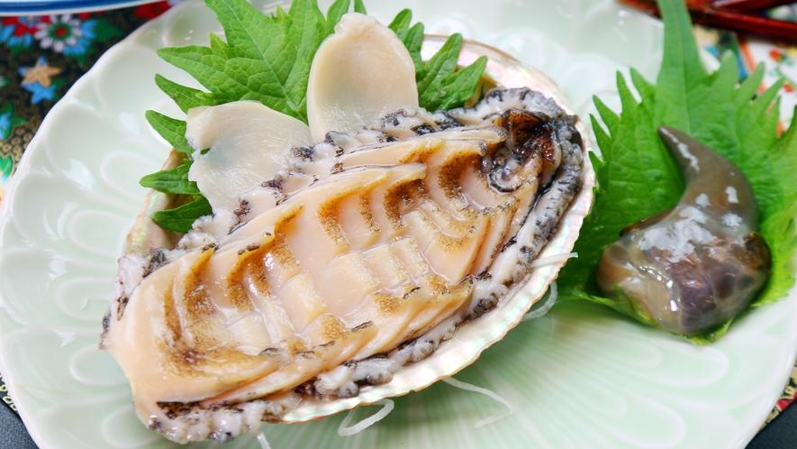 ◆アワビの造り★コリコリとした食感が癖になる!新鮮な証拠です!