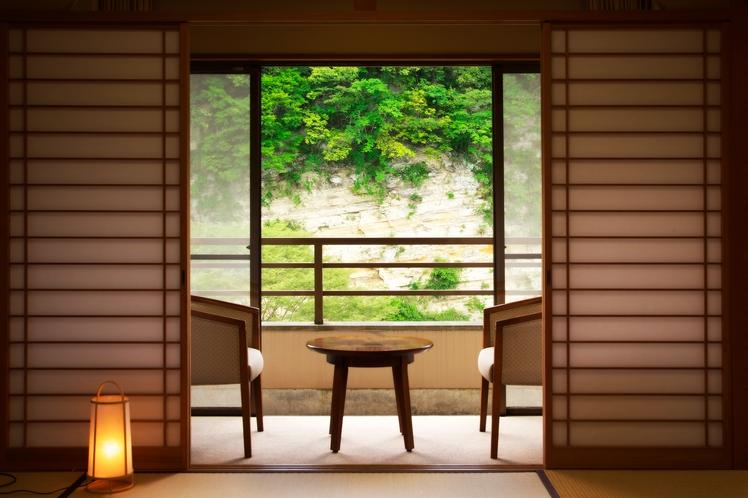 和室10畳からの眺め