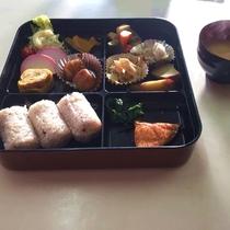 和風朝食の例です