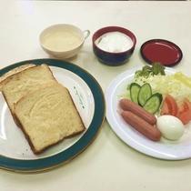 洋風朝食の例です