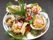 20周年記念特別追加料理「鮑と木ノ子のバター和え」