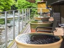 露天陶器風呂(男湯)