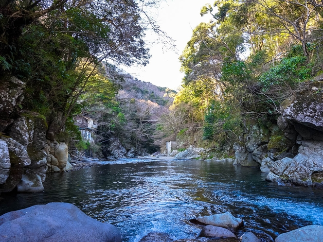 【風景】蛍が生息し、鮎がとれる、日本で数少ない清流