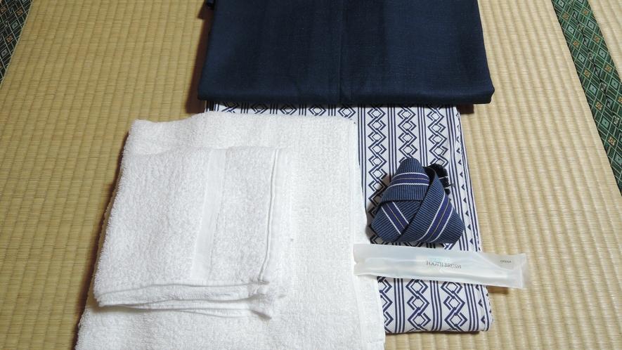 *【アメニティ】浴衣