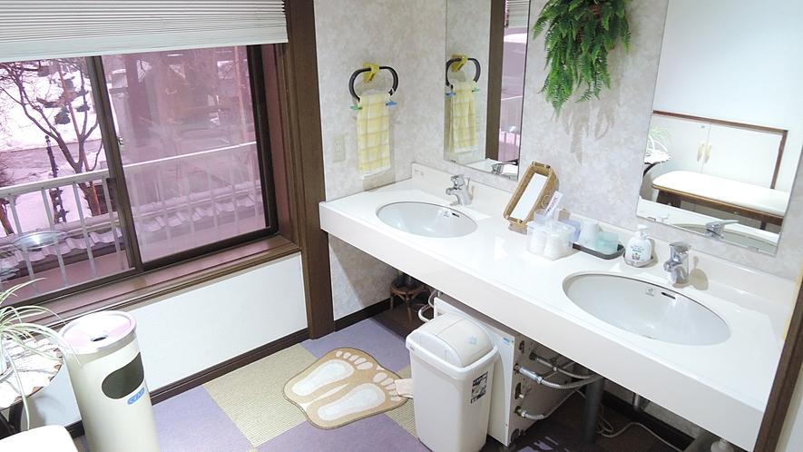 *【施設】共用洗面所