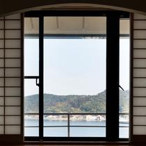 客室からの眺め