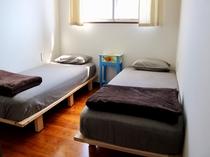ツインのお部屋。