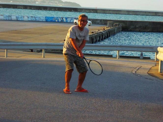 テニスにTRY!!