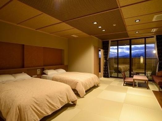 【秋冬旅セール】ポイント2倍【温泉・飛騨牛】露天風呂付客室 1泊2食付 和洋室