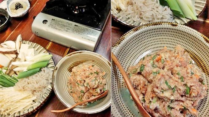 ◆冬季限定◆地鶏のつくね鍋でポカポカあったまろう♪リピーターのお客様に大好評!
