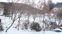 *【冬イメージ】雪景色