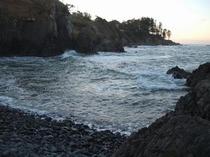 日本海(岩場海岸)