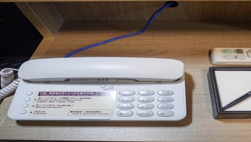 ★客室電話