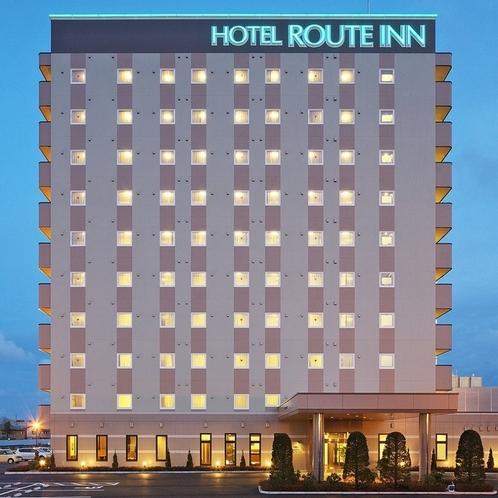 ★ホテル外観(夜)