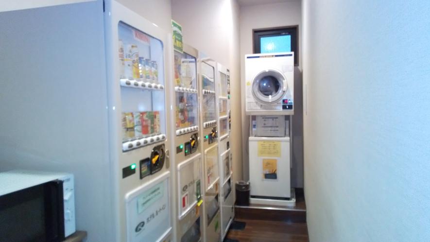 自動販売機コーナー(1階)