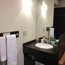 コンフォートシングル(浴室なし)の洗面台