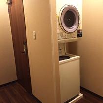 女性浴場内 洗濯機
