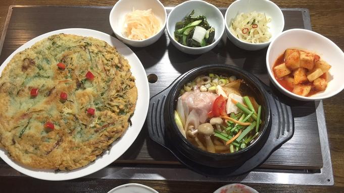 【楽天トラベルセール】【2食付】夜はホテル自慢の韓国料理に舌鼓★お好きな時間に客室風呂で温泉三昧