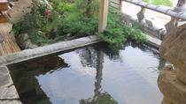 ・100%源泉掛け流しの天然温泉で日ごろの疲れを癒してください
