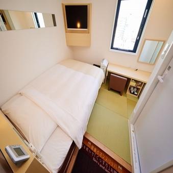 【高層階】和モデレートルーム【畳のお部屋にダブルベッド1台】