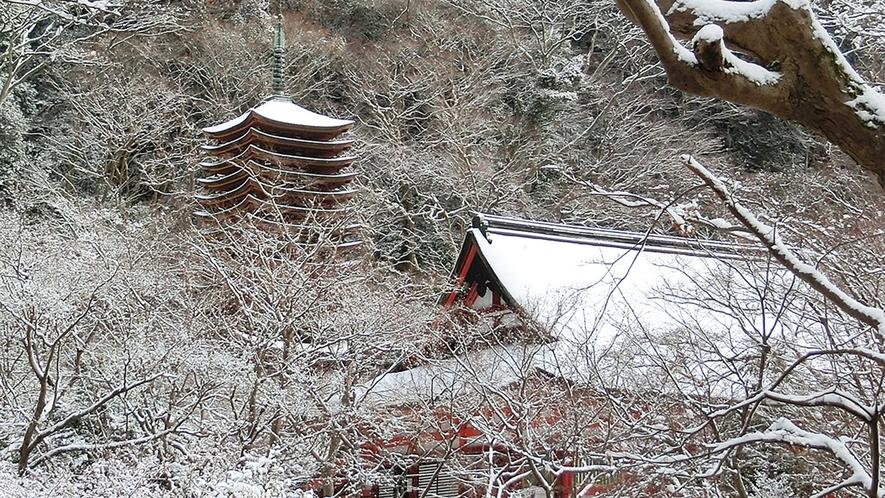 冬 談山神社