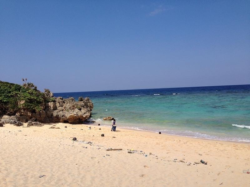 トケイ浜ビーチ