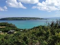 古宇利島遠景