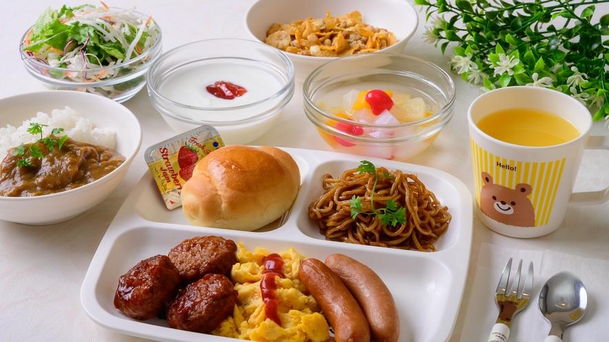 ★自由に選べる小鉢の朝ごはん