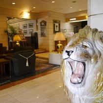 百獣の王☆ライオンがお出迎え