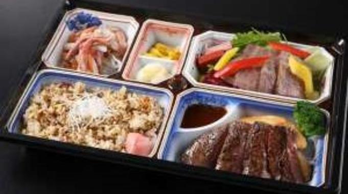 【近江スエヒロ本店謹製】近江牛ステーキと肉づくしお弁当セット/人
