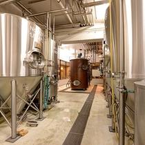 *ビール工房/併設のビール工房で作られた自慢の地ビールをどうぞ!