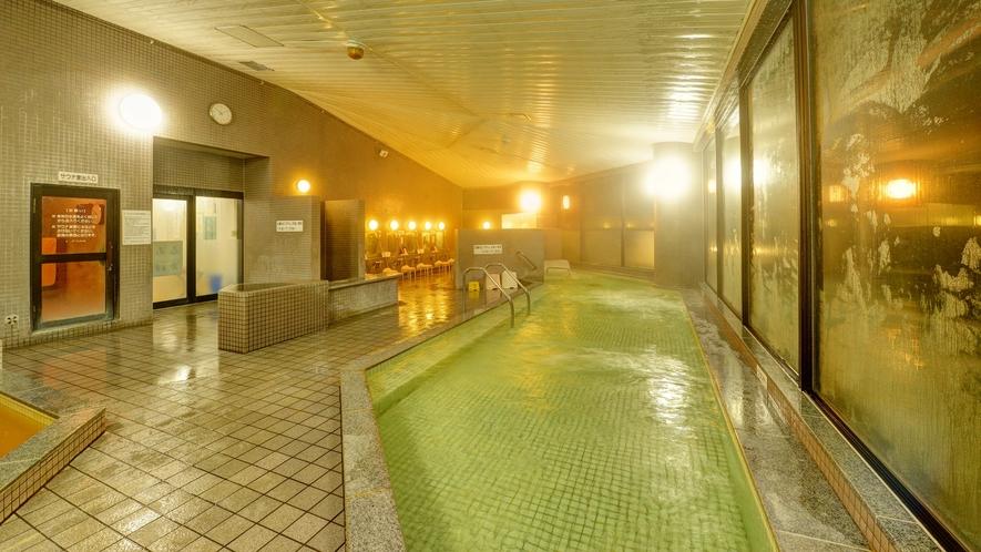 *大浴場/ジェットバス・寝湯・気泡浴・水風呂・薬湯、サウナがございます。