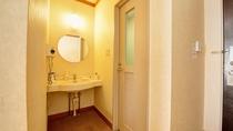 *洋室ツイン/お部屋の独立洗面所