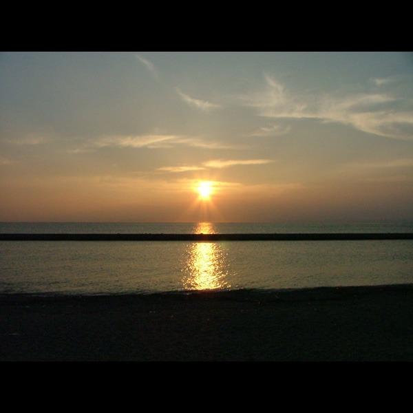 綺麗な夕日にうっとり★