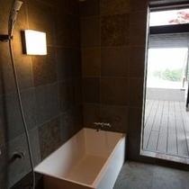 「庭Niwa」内風呂