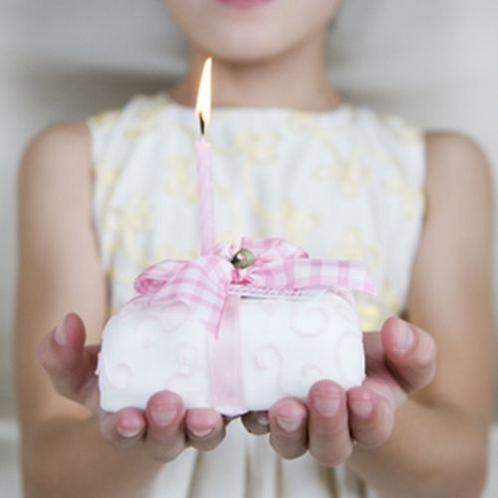 お子様のお誕生日をお祝い