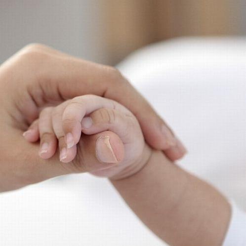 産まれたて赤ちゃんからお泊りできます