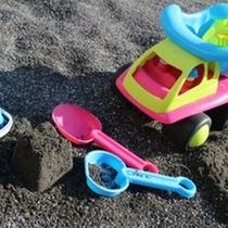 庭:お砂場も独り占め!