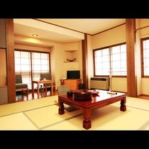 ★リニューアル和室 禁煙8畳★ のんびりとお寛ぎ頂けるお部屋です。