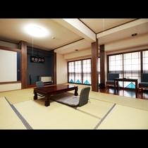 ★リニューアル和室 禁煙12畳★ 夜になると窓から見える神社の灯りが幻想的