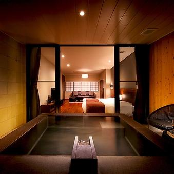 2F露天風呂付き客室