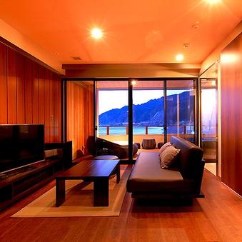3F露天風呂付き客室(個室シャワーブース付)【Aタイプ】