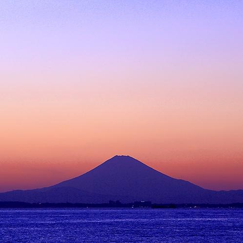 【富士山眺望】ゆうみからの美しい風景