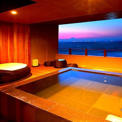 3F 露天風呂付き客室(個室シャワーブース付)