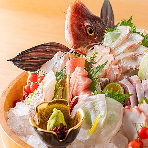 地魚の刺盛り