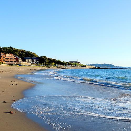 【海岸】目の前はプライベートな静かなビーチ
